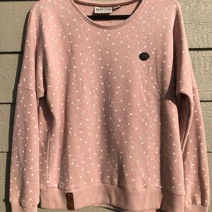 Naketano light pink sweatshirt